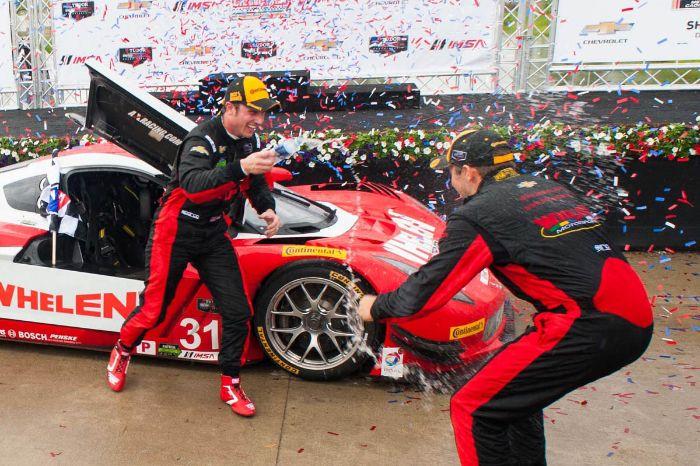 #31 Action Express Racing, Coyote DP Corvette DP: Eric Curran, D