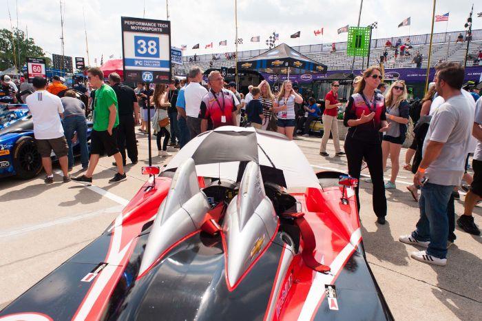 #38 Performance Tech Motorsports ORECA FLM09: James French, Jame