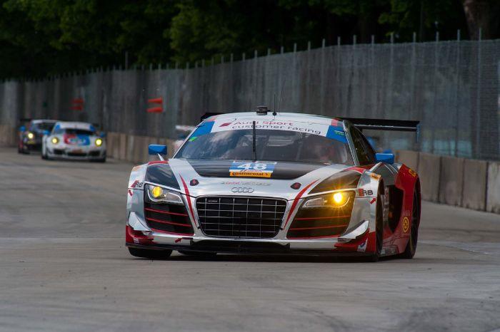#48 Paul Miller Racing Audi R8 LMS: Christopher Haase, Dion von