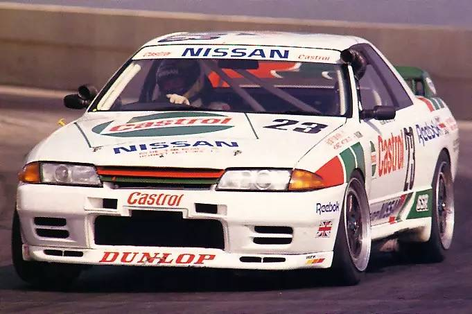 GTR R32 当年在澳门东望洋的胜利含金量还是相当高的