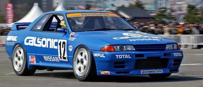 CALSONIC涂装的赛车还夺得了1990年JTCC的年度总冠军