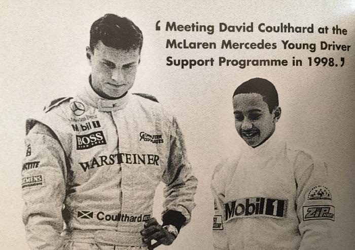 1998年,汉密尔顿和库特哈德在迈凯伦青年车手活动中再次见面。