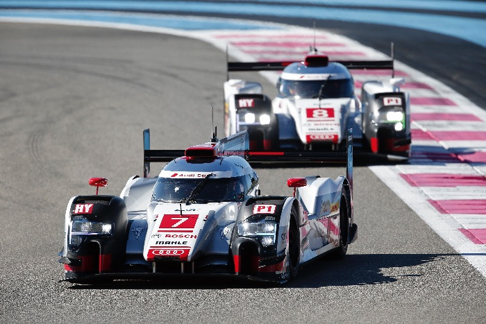 AUTO - WEC TESTS AT PAUL RICARD 2015