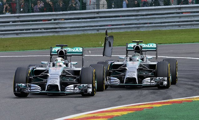 Belgium Formula One Grand Prix, Spa-Francorchamps, Spa, Belgium - 24 Aug 2014