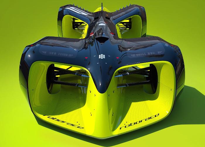 Roborace赛车概念图