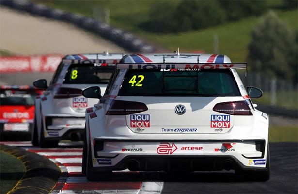 大众高尔夫GTI TCR赛车(图片来自Sportscar365)