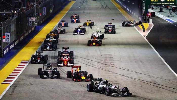 F1: 罗斯伯格新加坡夺冠 积分榜反超汉密尔顿