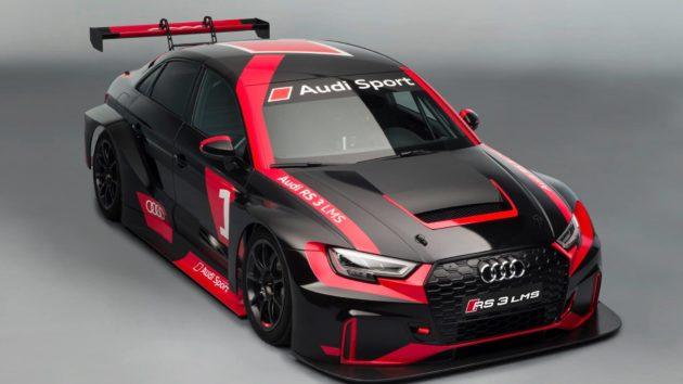 TCR: 奥迪发布RS 3 LMS赛车 | 赛道时光