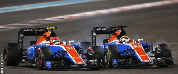 艾斯特班·奥康(Esteban Ocon)和帕斯卡尔·维尔莱茵(Pascal Wehrlein)是非常有天赋的年轻车手--当他们没有撞在一起的时候