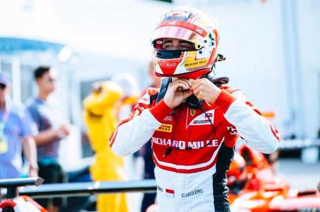 GP3新科冠军夏尔·勒克莱尔