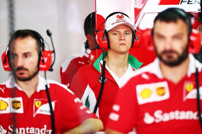 F1未来之星米克·舒马赫