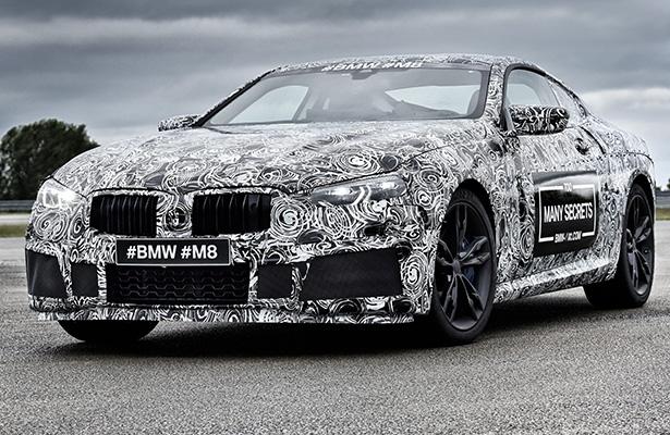 宝马M8原型车(图片来自BMW)