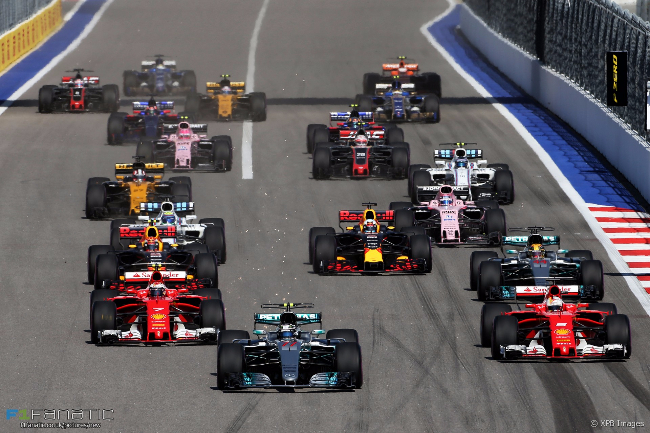 Motor Racing - Formula One World Championship - Russian Grand Prix - Race Day - Sochi, Russia