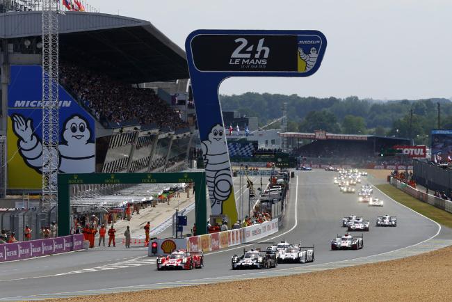 2015 Le Mans Start