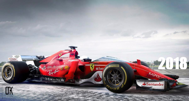 2018-Ferrari-F1-Car