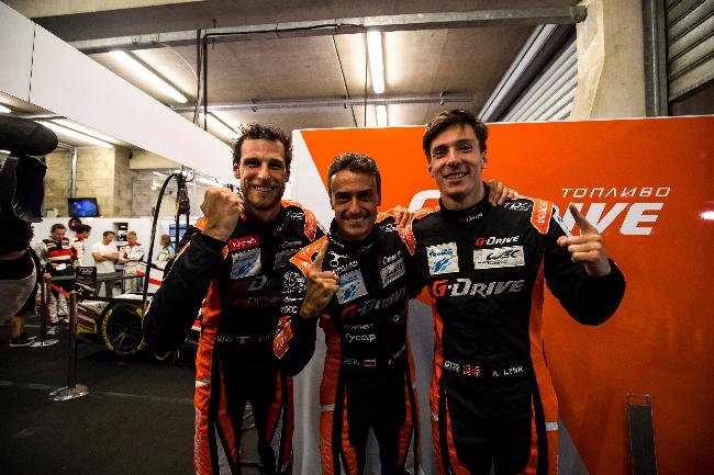 #26 G-DRIVE RACING / RUS / Oreca 07 - Gibson / Roman Rusinov (RUS) / Pierre Thiriet (FRA) / Alex Lynn (GBR) - Le Mans 24 Hour - Circuit des 24H du Mans - Le Mans - France