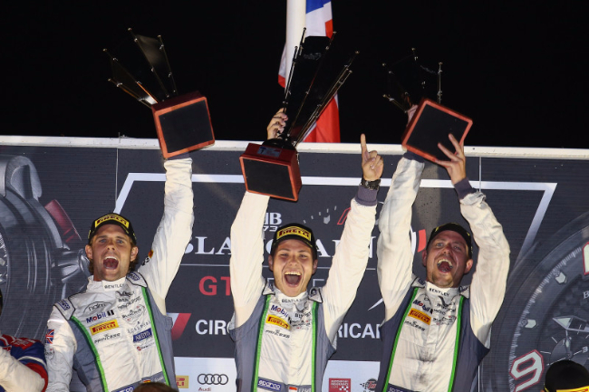 Bentley M-Sport #8 Podium