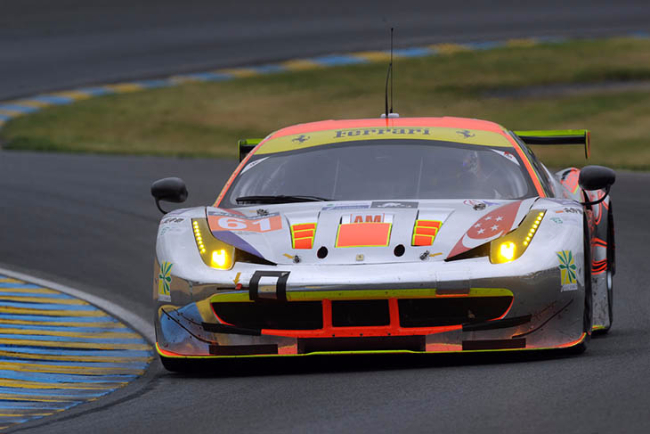 Clearwater Racing Le Mans Test 2016