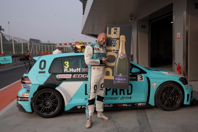 Rob Huff Zhejiang Pole Position