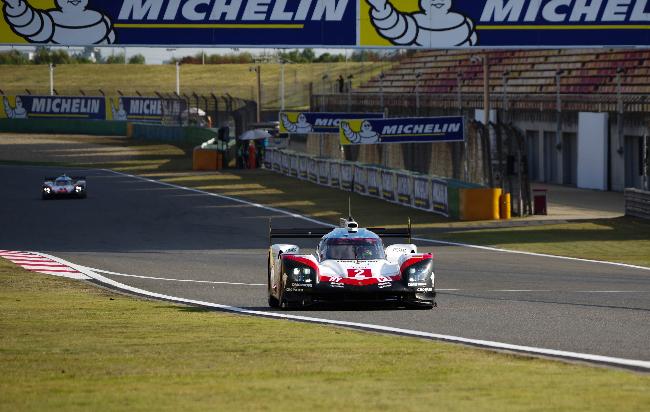 Porsche #2 Shanghai Qualifying