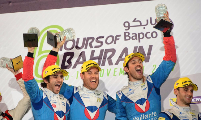 Vaillante Rebellion #31 Bahrain Podium