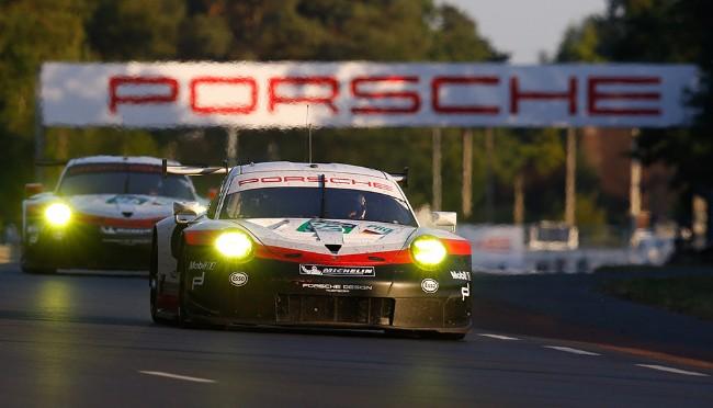 Porsche GT #92 Le Mans