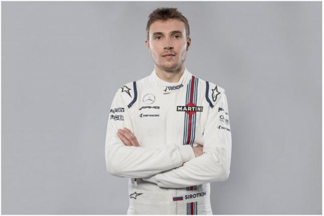 威廉姆斯车队赛车手谢尔盖·斯洛特金(Sergey Sirotkin)