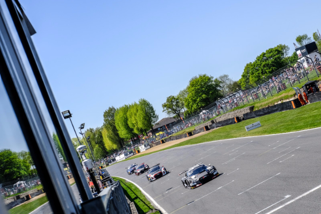 Belgian Audi Club Team WRT #2 Brands Hatch Race 1 Winner