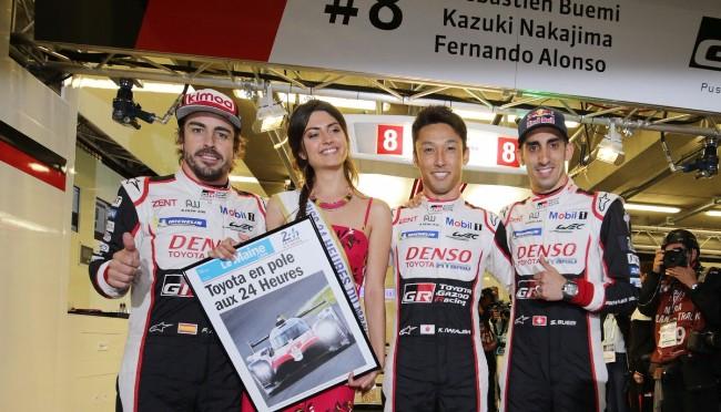Toyota Gazoo Racing #8 Pole Le Mans
