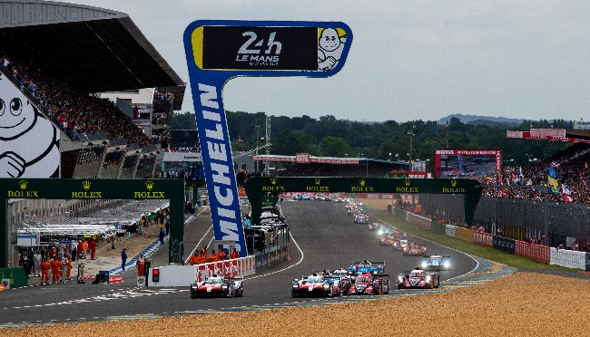 Start - 24 hours of Le Mans  - Circuit de la Sarthe - Le Mans - France -