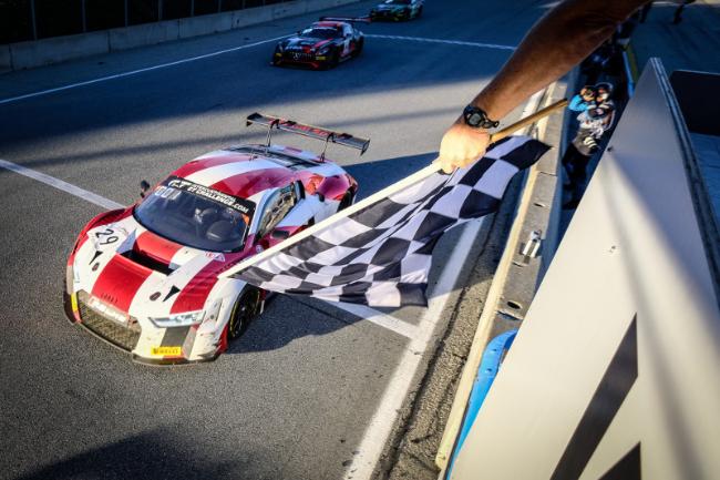 Audi Sport Team Land #29 Winner California 8 Hours