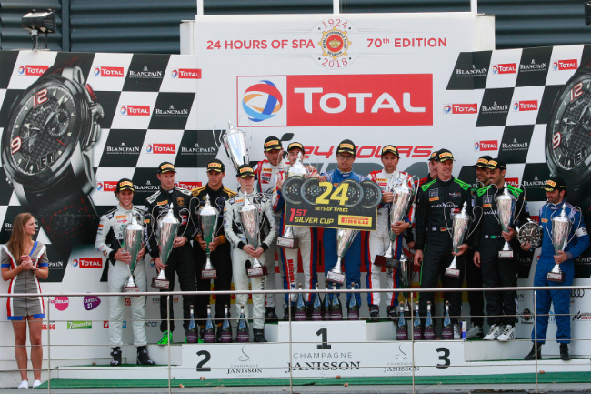 Winner Spa 24 Podium(1)
