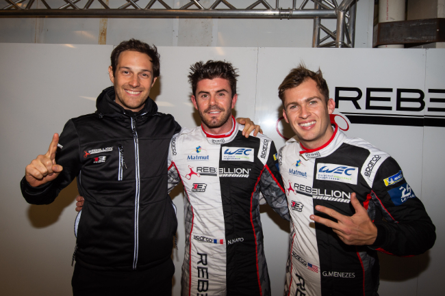 #1 REBELLION RACING / CHE / Rebellion R-13 -Gibson - Norman Nato (FRA) / Gustavo Menezes (USA) / Bruno Senna (BRA) -- Lone Star Le Mans - Circuit of the Americas - Austin - USA