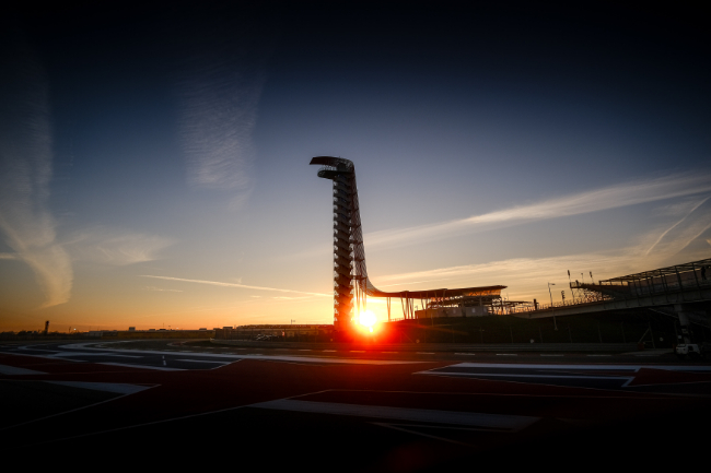 Sunset, - Lone Star Le Mans - Circuit of the Americas - Austin - USA
