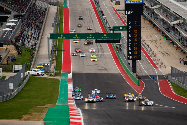 Start - - Lone Star Le Mans - Circuit of the Americas - Austin - USA