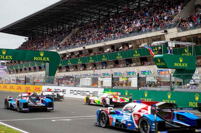Start of the Race - 24 hours of Le Mans - Circuit de la Sarthe - Le Mans - France -