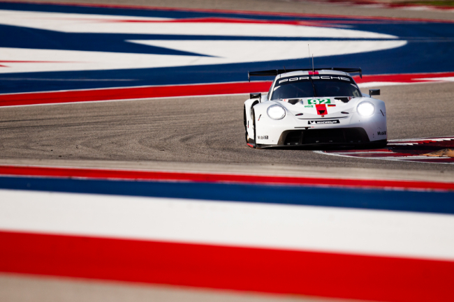#92 PORSCHE GT TEAM / DEU / Porsche 911 RSR -  - Lone Star Le Mans - Circuit of the Americas - Austin - USA